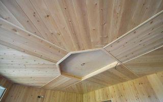 Потолок из вагонки в интерьере фото: покраска и отделка металлической и алюминиевой, видео