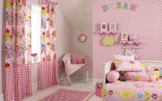 Шторы в детскую комнату: для девочек, фото самых красивых занавесок, картинки для 7 и 12 лет, оформление