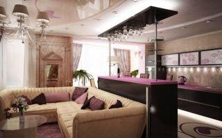 Дизайн кухни совмещенной с залом фото: совместить интерьер, как сделать соединенную, объединение в одной комнате
