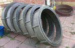 Полимерные колодцы: полимерпесчаные изделия, песчаные, кольца, сборный, канализации и люки