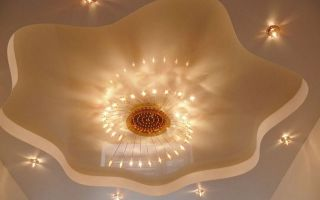 Красивые потолки из гипсокартона фотогалерея: подвесные, как сделать самые красивые