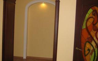 Арки из гипсокартона фото межкомнатные: как сделать своими руками, в деревянном проеме дверном подсветка