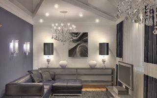 Серые шторы в гостиной: как правильно включить их в интерьер, чтобы не было скучно — homeli.ru