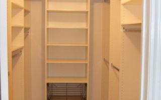 Гардеробная комната фото 2 кв. м: маленькие метры, дизайн 1 на 2, проект и планировка, схема