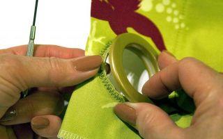 Как сшить шторы: люверсы своими руками, правильная пошаговая инструкция, как установить на занавески, мастер-класс