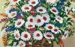 Вышивка крестом цветы: девушка с камелиями, полевые картинки, винтажная коллекция, наборы лицо, нитки