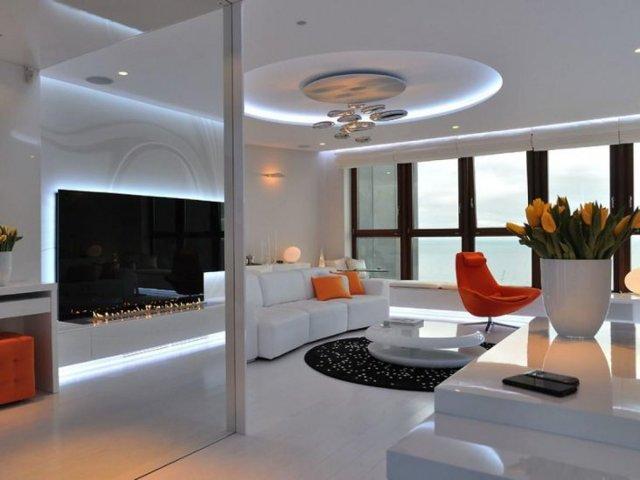 Люстры для гостиной в современном стиле: фото залов, светильники и освещение интерьера, потолочный абажур