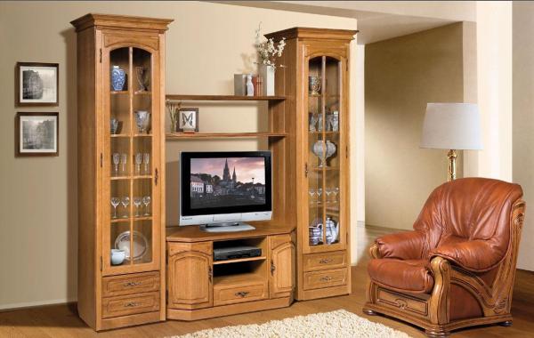 Модульная гостиная в современном стиле: фото систем, цвет груша и яблоня локарно