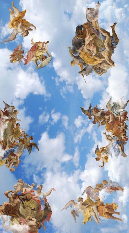 Натяжные потолки 3д: фото с рисунком, фотопечать с эффектом, производство и монтаж, видео