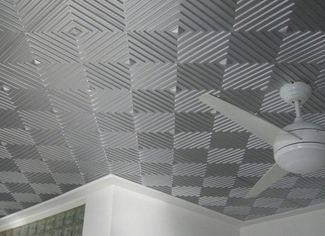 Потолок из пенопласта: фото своими руками, панели и отделка, как закрепить фигурный декор, квадратики и розетки