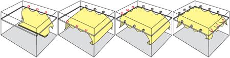 Монтаж тканевых натяжных потолков: установка своими руками, видео ремонта, фото бесшовных, драпировка и отделка clipso, технологии