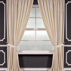 Классические шторы: в стиле классика, фото в интерьере, современные карнизы для зала, дизайн занавесок и портьер