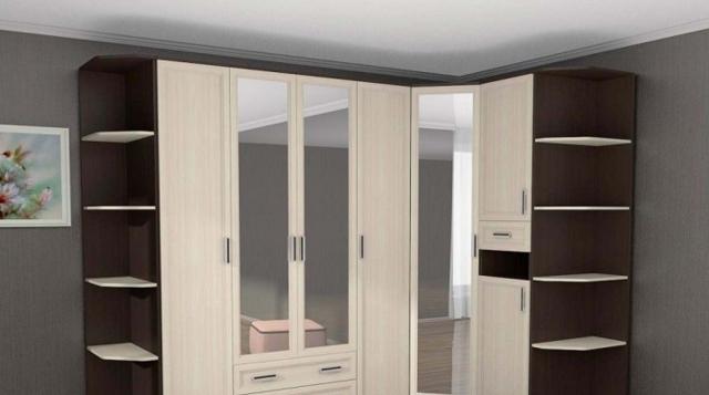 Встроенные шкафы-купе в спальню фото: угловой своими руками, дизайн внутренней конструкции, угловая кровать