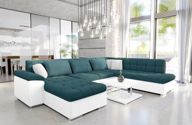 Диван для современной гостиной: стильные фото, угловой и модульный, зал и технологии