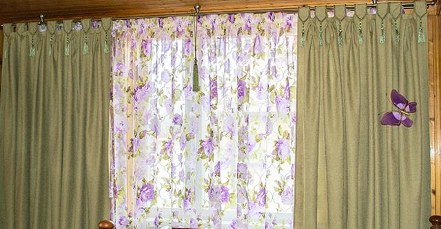 Как удлинить шторы: снизу своими руками, фото, с другой тканью, если тюль короткий, что делать и как надставить