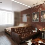 Дизайн комнаты две зоны спальни фото: зонирование, как отгородить спальное место в однокомнатной квартире