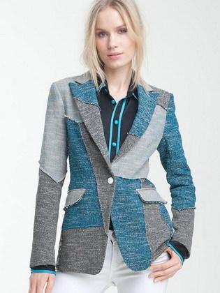 Одежда в стиле пэчворк: фото кофт, вязаные носки, кардиган и платье, лоскутные жилеты и рюкзаки, свитер и юбка