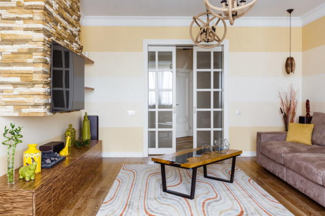 Двери раздвижные в зал: распашных фото, купе в гостиной, размер и дизайн интерьера