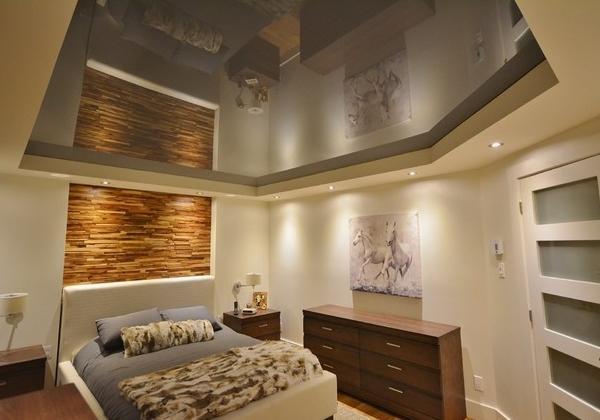Дизайн натяжных потолков: фото красивых идей для интерьера в стиле лофт, Акс и Элит в стиле хай-тек, Премиум и Сайрус