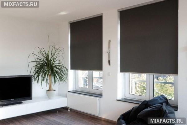 Рулонные шторы на пластиковые окна: фото и картинки, открытые виды жалюзи, как выбрать роликовые закрытого типа