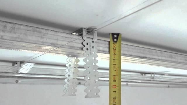 Потолок из гипсокартона своими руками: как сделать, видео, гипсокартонный, пошаговая инструкция с фото