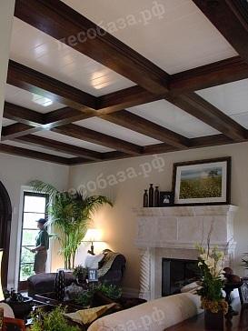 Дизайн потолка с балками: фото интерьера, своими руками на даче, светлые фальшбалки, имитация полиуретановых, все о перекрытии, дизайн гостиной