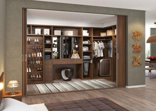 Наполнение для шкафов и гардеробных: комнаты фото, коробка для переезда, Икеа своими руками, внутри варианты