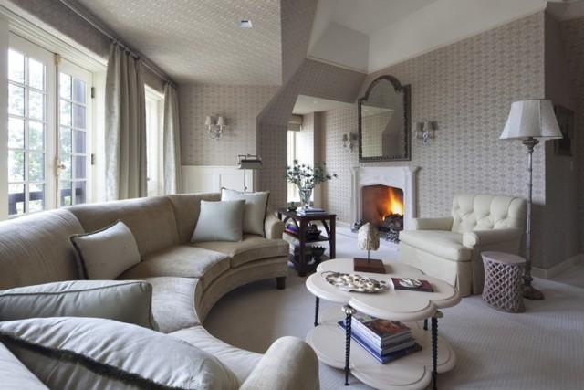 Диван угловой в гостиную: размеры большие, полукруглый в интерьере, маленькие фото, круглый зал небольшой