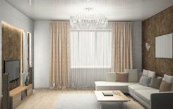 Натяжные потолки в квартирах: фото установки, плюсы и минусы, как выглядят в интерьере студии, ремонт и монтаж
