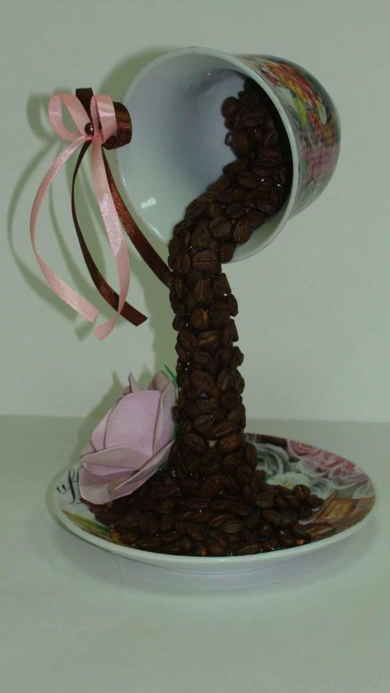 Топиарий своими руками для начинающих летящая кружка: чашки льющиеся, парящая мастер класс, из блюдца кофейная, фото