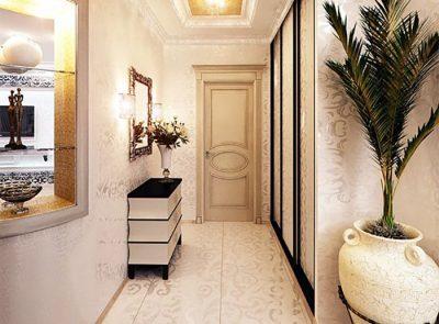 Обои в прихожую в квартире фото 2020: дизайн и современные идеи, какими поклеить, модные варианты комбинирования