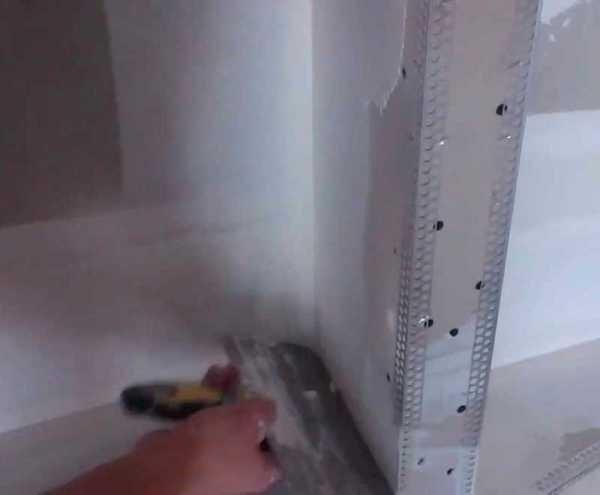 Уголок для гипсокартона: как сделать металлический из профиля, отделка перфорированным, внутренний пластиковый