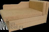 Кушетка со спальным местом: недорогая180х80 и 120х200 с выдвижным краем