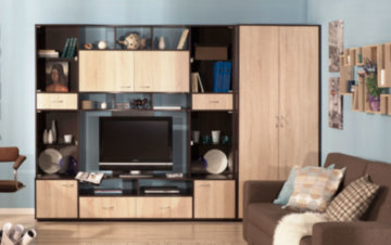 Стенка в гостиную в современном стиле фото: в зал красивые и недорогие, мини-стенки модерн 2020 мебельные