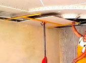 Подъемник для гипсокартона: своими руками чертеж, ГКЛ распорка Премос, приспособление для переноски самодельное