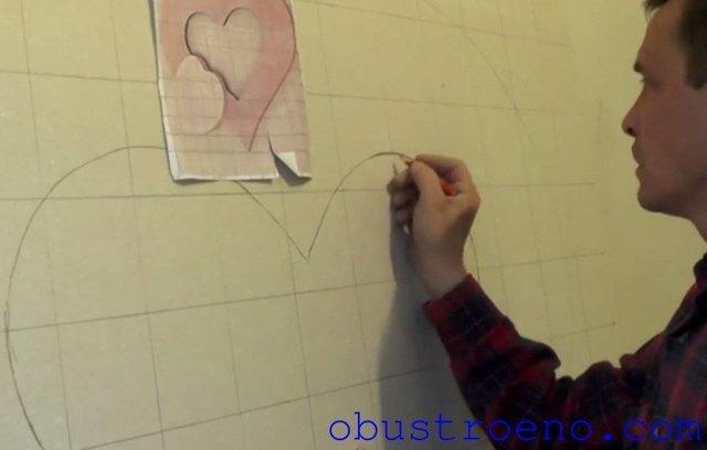 Фигура из гипсокартона: цветок и фото узоров на стенах, как сделать овальные и полукруглые, вырезать для телевизора