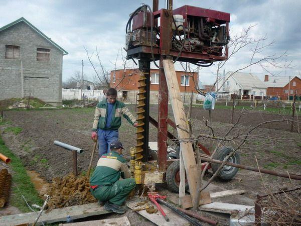 Буровая установка: для бурения скважин на воду, мини бурильная своими руками, самодельный вертлюг, чертежи