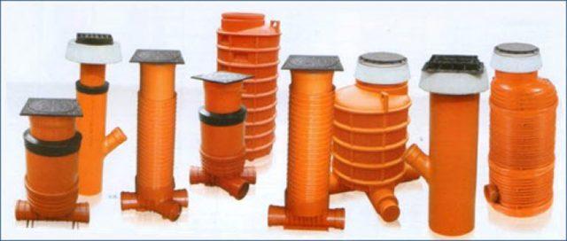 Ревизионные колодцы для канализации: смотровые, колодец для дренажа, пластиковый водопровод, устройство