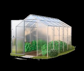 Теплицы из поликарбоната 2х4: шириной метр и длиной 8 метровый, парник Урожай своими руками, Тетра прямостенная