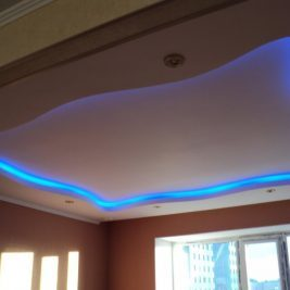 Многоуровневые потолки: фото ремонта белого, позволяют ли сделать, чертеж и идея, монтаж в интерьере, план и виды дизайнов с трехуровневыми