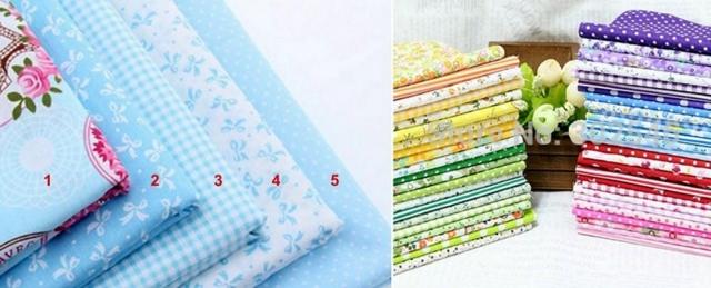 Ткани для пэчворка: лоскутная мозаика, набор для шитья, аппликации с американских и корейских тканей peppy