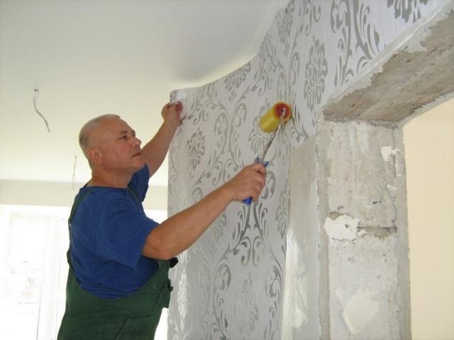 Бумажные обои: для стен, Россия и Беларусь, своими руками фото, под покраску на основе, сколько сохнут, плюсы