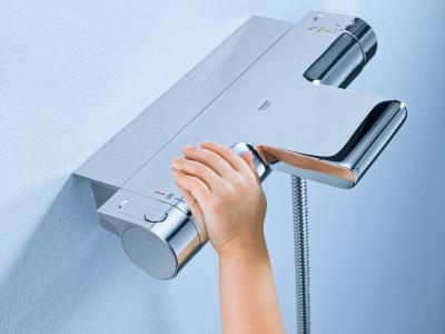 Смеситель с термостатом: кран для душа с терморегулятором, термостатические что это такое, с регулировкой температуры