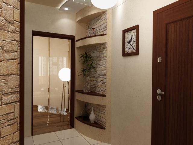Прихожая 9 кв. м: дизайн и фото коридора, квадратный и прямоугольный
