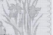 Вышивка крестом птиц: схемы птичек, жар птица бесплатно, черно-белые как вышить, монохром