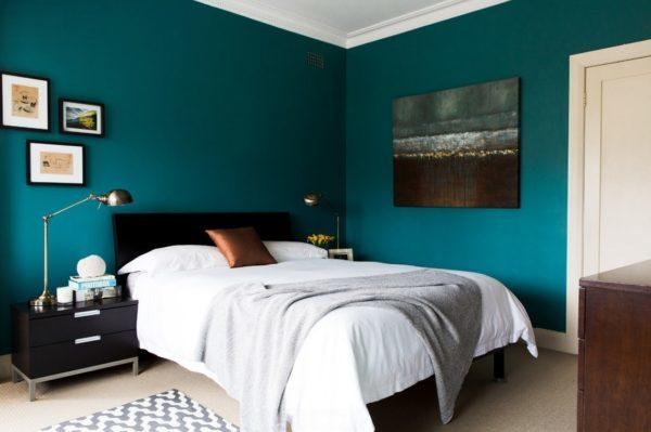 В какой цвет покрасить спальню фото: стены структурным валиком, покраска и варианты дизайна