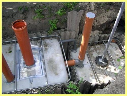 Септик без откачки: на даче своими руками сделать без запаха канализацию, как устроен, очистить, мини антисептик