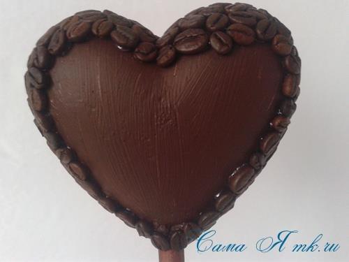 Топиарий сердце: из кофе, в виде сердца своими руками, фото, сердечки мастер класс, как сделать мк