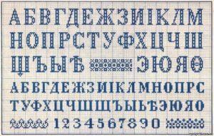 Схемы вышивки крестом цифр: вышиваем римские красивым шрифтом, маленькие метрики и калькулятор