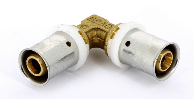 Пресс фитинги: обжимные металлопластиковые муфты для труб, инструмент для монтажа, соединение арматуры